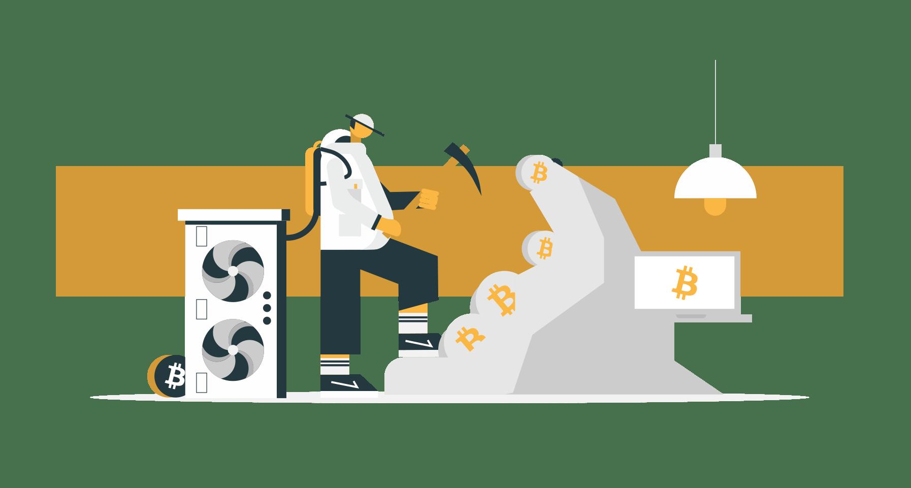 bitcoin těžba gold