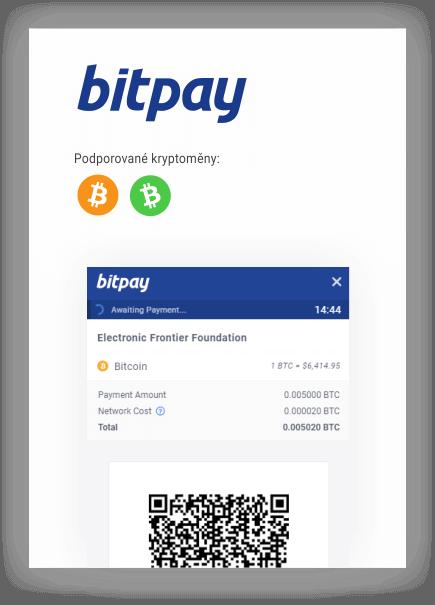 bitpay podporované kryptoměny mobil